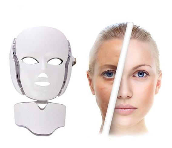 Mascara De Led Fototerapia Facial Microcorrente No Brasil