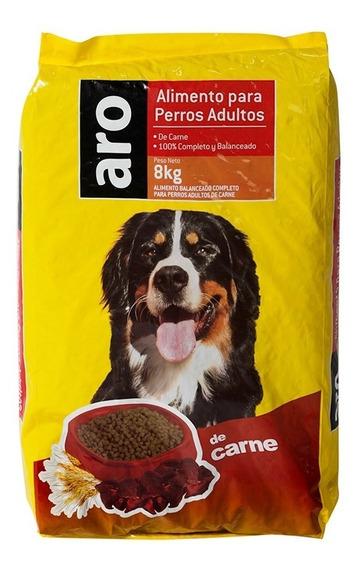 Alimento Para Mascotas Aro Carne X 8kg