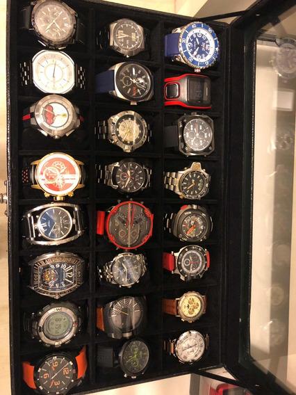 Coleção De Relógios De Pulso