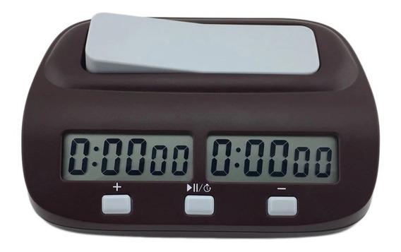 Relógio De Xadrez Digital Leap Compacto Pq9907s