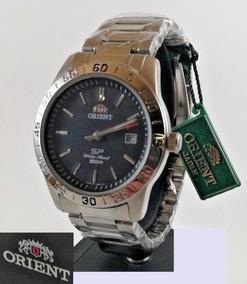 Relógio Pulseira De Aço Orient Sp Lun9h001b0 Made In Japão