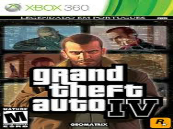 Gta 4 Xbox 360 Midia Digital