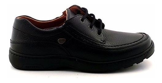 Zapatos Hombre Cuero Cavatini Confort Negro Vestir Hcac00822