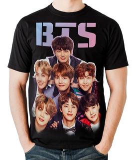 Camiseta Bts Bangtan Boys Love Yourself Kpop Brasil Ref 0035