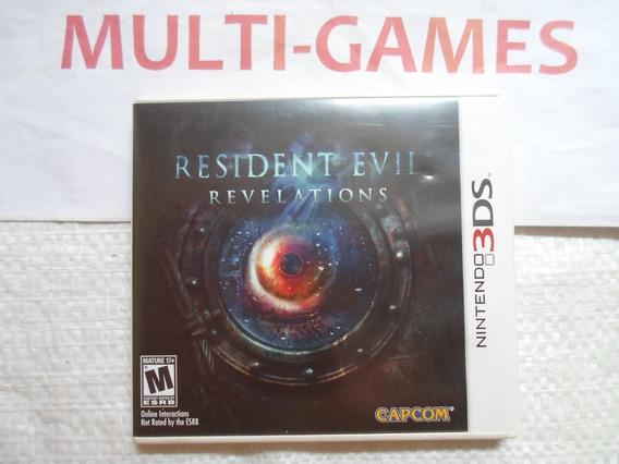 Resident Evil Revelations Jogo 3ds