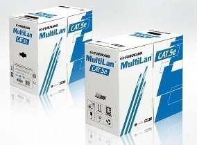 Caixa De Cabo Furukawa Cat5e Multilan - Premium Anti Chamas