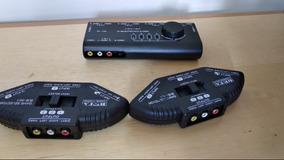 3 Chaveadores Seletores Rca Composite