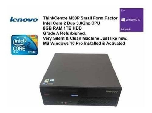 Lenovo Thinkcentre M58p 3ghz Activado Windows 10 Office 2016
