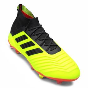 e99d7c9451c Chuteira Adidas Verde Limao - Chuteiras Adidas para Adultos no ...