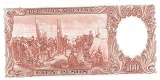 Billete 100 Pesos Moneda Nacional Bottero 2078 Excelente+