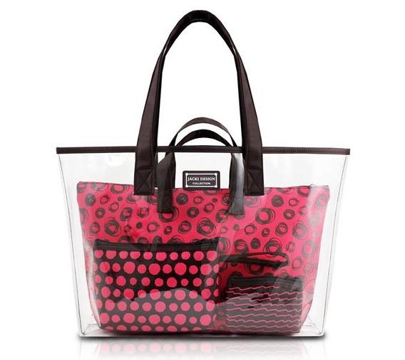 Kit De Bolsa Pop Art Jacki Design Pronta Entrega