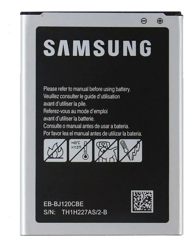 Bateria Pila Samsung Galaxy J1 2016 J120 Eb Bj120cbe