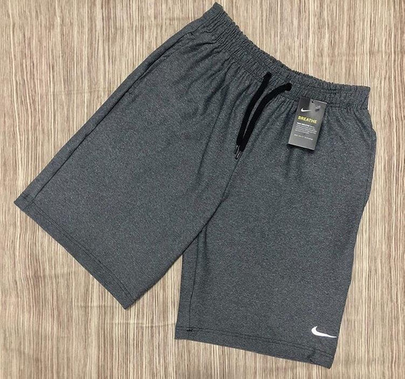 Bermudas Adiddas Nike (preto E Cinza)