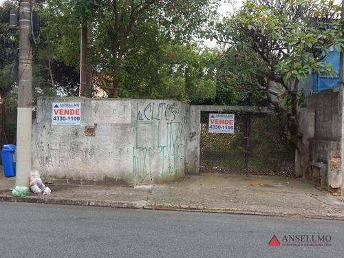 Imagem 1 de 4 de Terreno À Venda, 389 M² Por R$ 800.000,00 - Fundação - São Caetano Do Sul/sp - Te0136