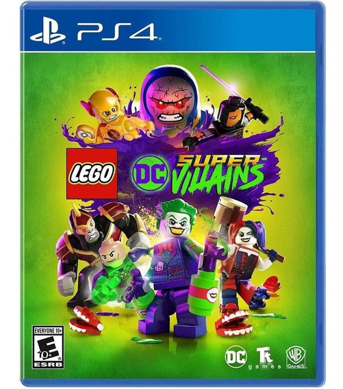 Lego Dc Supervilains - Ps4