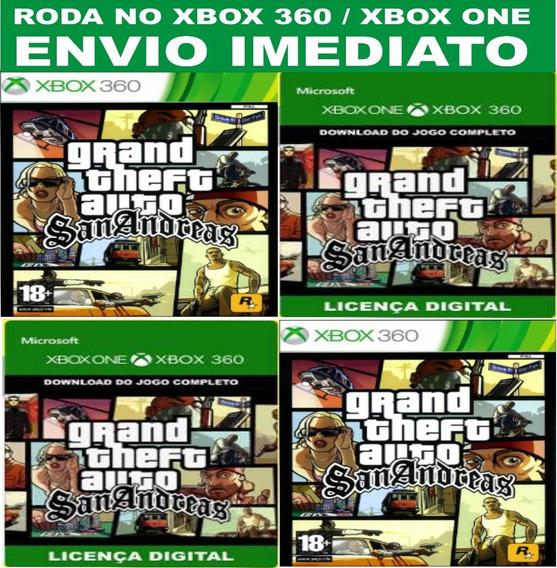 Gta San Andreas Xbox One Offline + Brinde