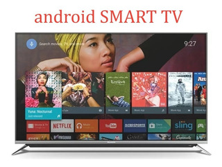 Skyworth Smart Tv 49 Poco Uso+tira Led+soport ,ver Video