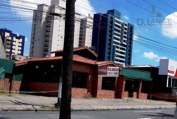 Casa Comercial Para Locação, Jardim Guanabara, Campinas. - Ca9109