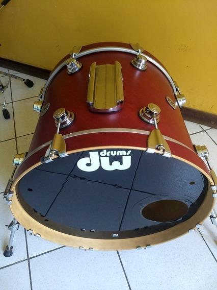 Bateria Dw Collector Impecável,tambores 10,12,14,20