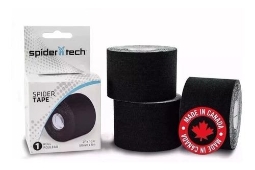 Cinta Kinesio Taping Spidertech ® Tape Rollo 5 Mts Rollo Lesion Vendaje Neuromuscular Spider Tech
