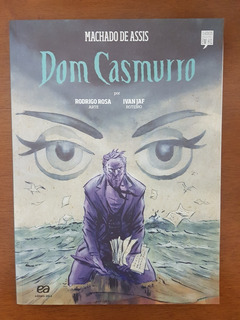 Livro Hq Dom Casmurro