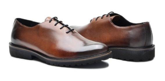 Sapato Executivo N 36 Ao 49 Masculino De Couro Legítimo