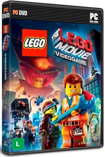 The Lego Movie Videogame Pc Mídia Física Novo Lacrado