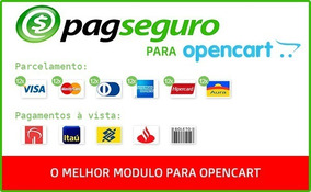 Pagseguro Opencart 2.0 - 3.0 Frete Grátis