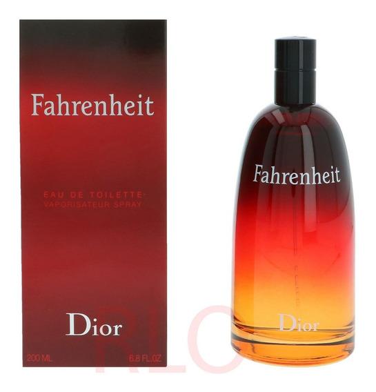 Perfume Dior Fahrenheit Edt 200ml Lote 2013 Original Lacrado