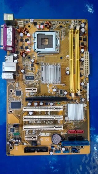 Placa Mãe 775 Asus P5ld2-x-1333 Aceita P4/ht/dual Core 2 Duo