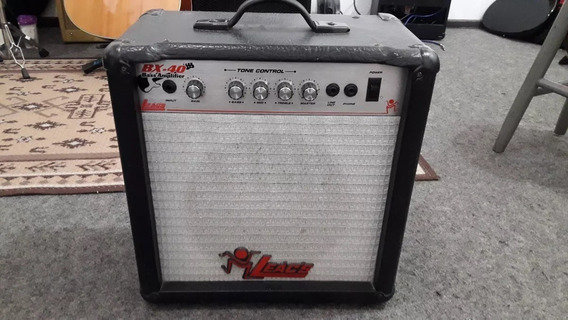 Pedal Cubo Amplificador De Baixo Leacs Bx40 Falante Meteoro