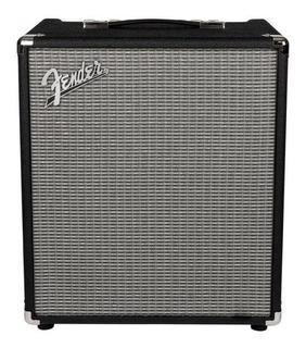 Amplificador Fender Rumble 100 100W transistor negro y plata 220V