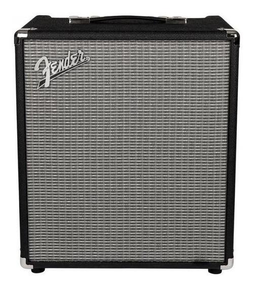 Amplificador Fender Rumble 100 Transistor 100W negro y plata 220V