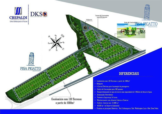 Terrenos À Venda, 1000 M² Por R$ 450.000 - Santo Antonio - Cosmópolis/sp - Te0703