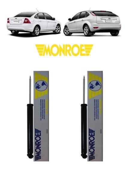 Par De Amortecedor Traseiro Original Monroe Ford Focus 09/13