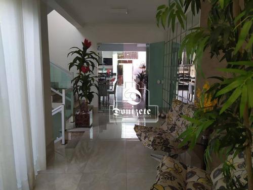Sobrado Com 5 Dormitórios À Venda, 299 M² Por R$ 2.200.000,00 - Jardim - Santo André/sp - So3353