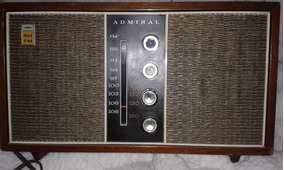 Radio Am Fm Valvulado Admiral
