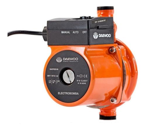 Bomba De Agua Presurizadora Daewoo 100w 25l/min 9m Rowa