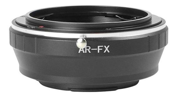 Anel Adaptador Lente Konica Ar-fx Fuji X-pro1 X-e1 X-e2