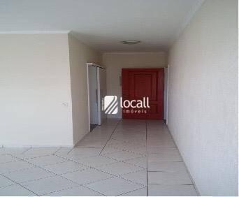 Apartamento Com 3 Dormitórios Para Alugar, 123 M² Por R$ 1.500/mês - Vila Redentora - São José Do Rio Preto/sp - Ap1978