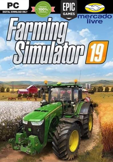 Jogo Farming Simulator 19 - Original - Epic Games