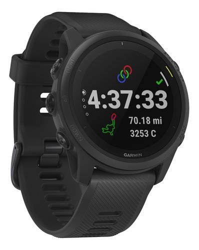 Smartwatch Gps Garmin Forerunner 745 Music Oxi Altimetro Bar