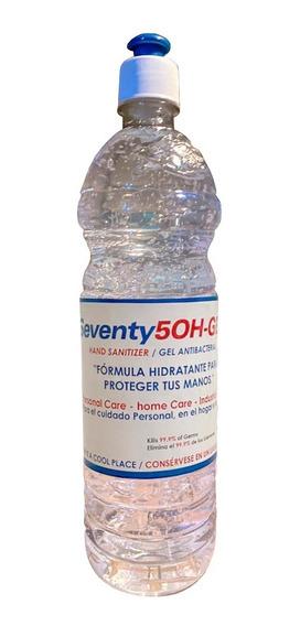 Gel Antibacterial 75% De Alcohol 1 Litro Lubrikon