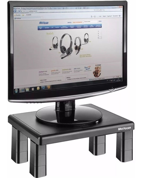 Suporte Monitor Notebook Multilaser Ac125 4 Níveis Ajuste