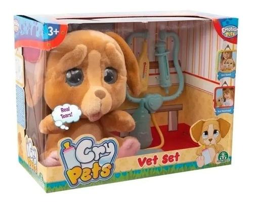 Mascota Interactiva Cry Pets Vet Set Llora Caffaro