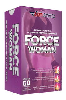 Force Woman Com 60 Comprimidos Up Sports Nutrition
