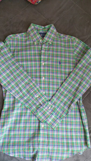 Camisa Polo Ralph Lauren Custom Fit Small