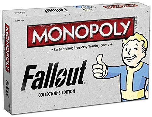 Monopoly: Fallout Collectors Edition Juego De Mesa