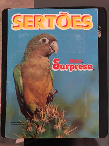 Álbum Completo Do Chocolate Surpresa: Sertões
