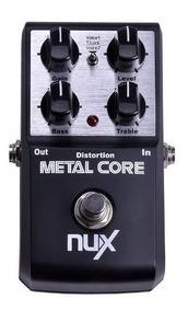 Pedal De Guitarra Nux Metal Core Distortion